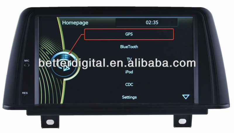 Touch screen car dvd for bmw 1 series F20 F30 with excellent quality