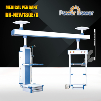 Meidcal Pendant from CE,FDA,ISO 13485 certificates approved factory:RH -NEW180E/X ICU Iuxrious ceiling bridge medical pendant