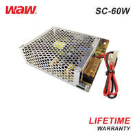 220V Chargeable 60W 12V 4A Switching Power Supply