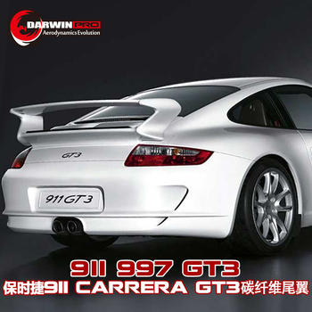 Carbon Fiber Manufacturer Trunk spoiler GT3 style for 05-11 porsche Carrera 911 / 997 Rear Spoiler GT Wing