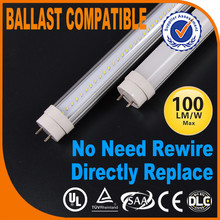 Eco-friendly ETL Australia Cct Ul Led Tube T8 Long Time Ballast Compatible Dlc Lamps T5 Adapter