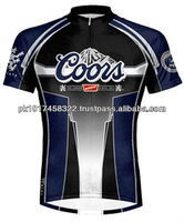 100 % polyester Sublimation short sleeves Cycling jerseys