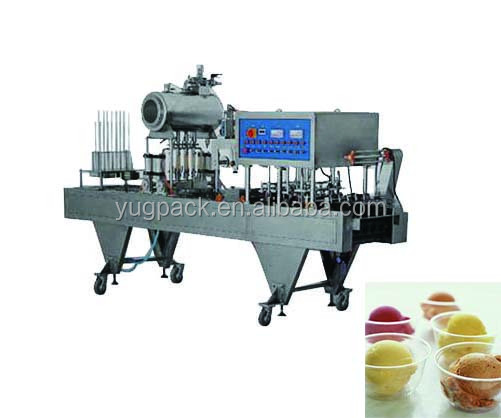 Factory wholesale ice cream cup filling machine