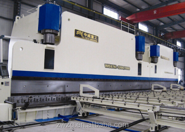 CNC tandem press brake machine