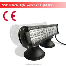 top quality 72w led light bars,for off road use,military,agriculture,marine,mining.