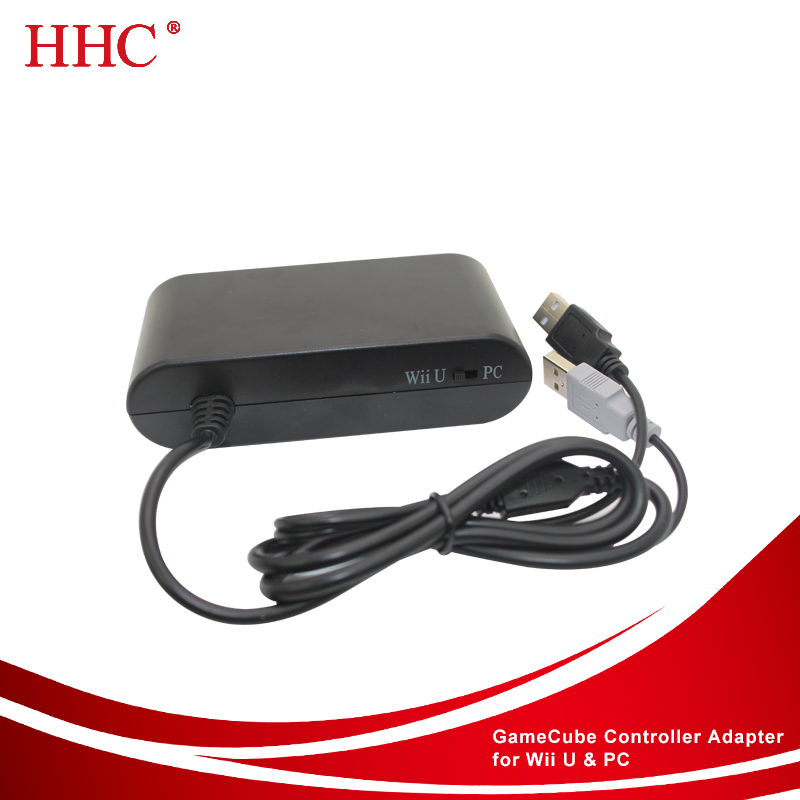 Video games accessories factory price Gamecube controller Adapter for Wii u&PC