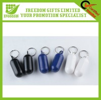 Promotional Custom Logo Plastic Floating Keyring