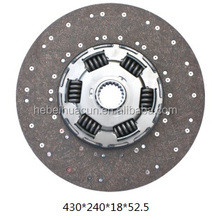 Howo truck clutch 430 driven disc/clutch plate for heavy truck