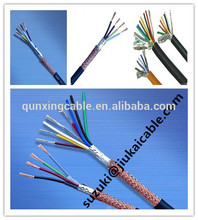 AWM 22AWG/24AWG wire PVC Copper Conductor Shielded UL 2464 Control Cable