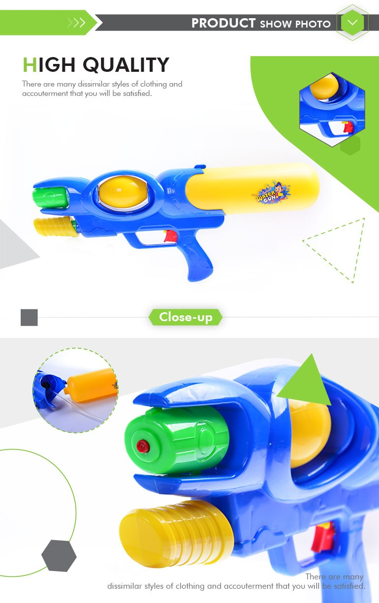 New Style Summer Toy Plastic Water Gun Toy For Kids