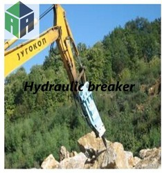 all kind of excavator use, hydraulic breaker