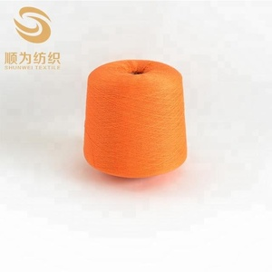 Custom Colors and Mixed Fibers Cotton Blended Cone Yarn for Knitting Machine