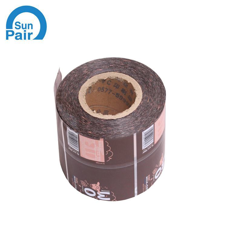 beverage pvc shrink label