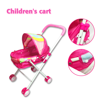 2016 Plastic Baby Doll Stroller Toy for Sale