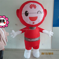 Brand cellphone advertising inflatable cartoon dolls for sale