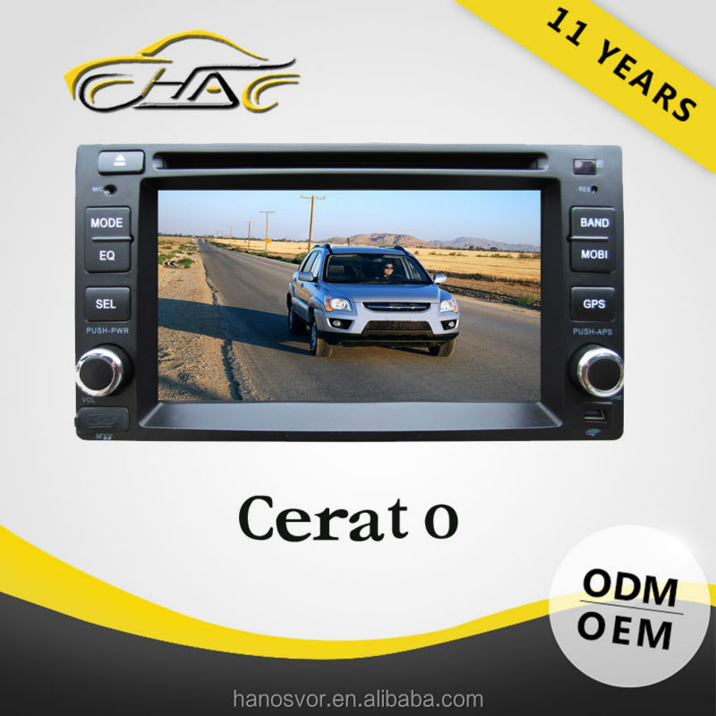 For cerato dvd gps gps navigation wince 6.0 core version dvd player with usb and memory card