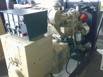 Reconditioned Cummins 75 KVA Open Generator Set