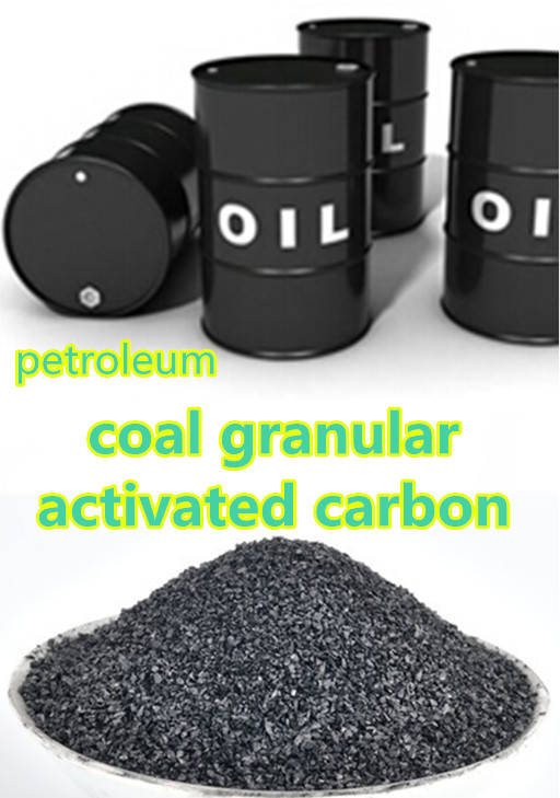 Black engine oil bleaching by activated carbon coal