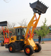 China cheap 4x4 compact tractor with loader used in farm
