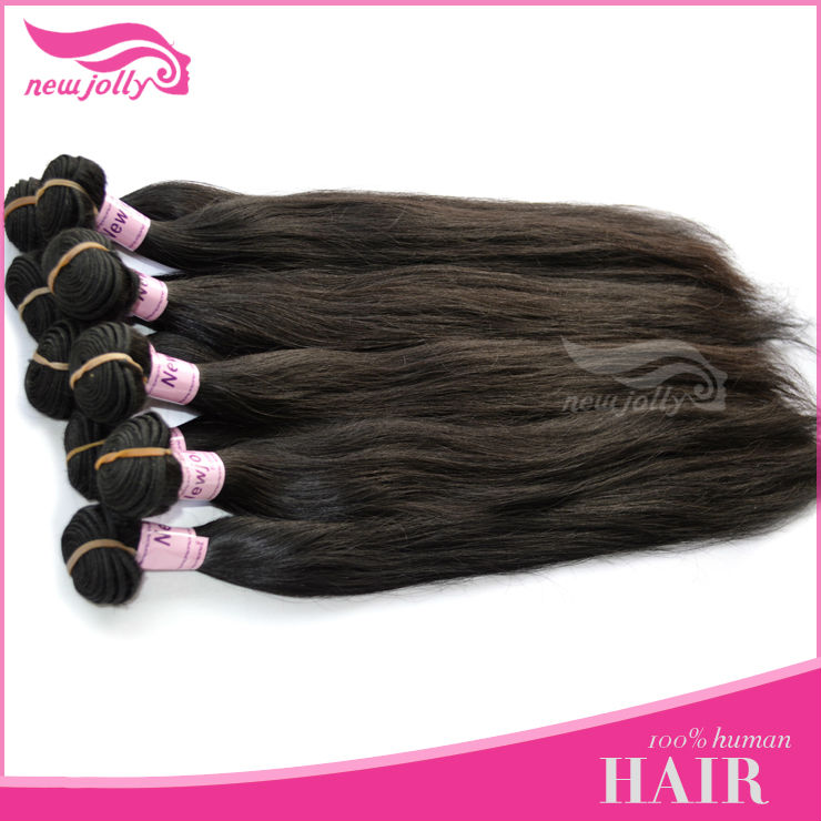 Brand Name Human Hair Rainbow Hair Extension On Sale