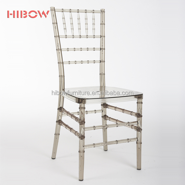Hibow red transparent wholesale cheap tiffiny chiavari chair <strong>H001</strong>