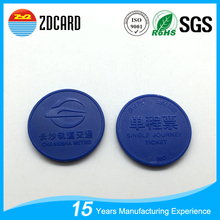 Alibaba China Manufacturer Cheap Plastic Colord rfid Smart Token