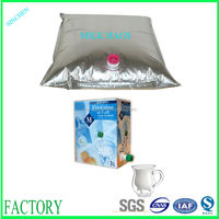 PE plastic liquid food grade low price nut milk bags