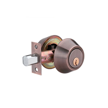 High quality brass cylinder and keys antique copper single & double cylinder deadbolt lock Kwikset Weiser C4 door lock D102-AC