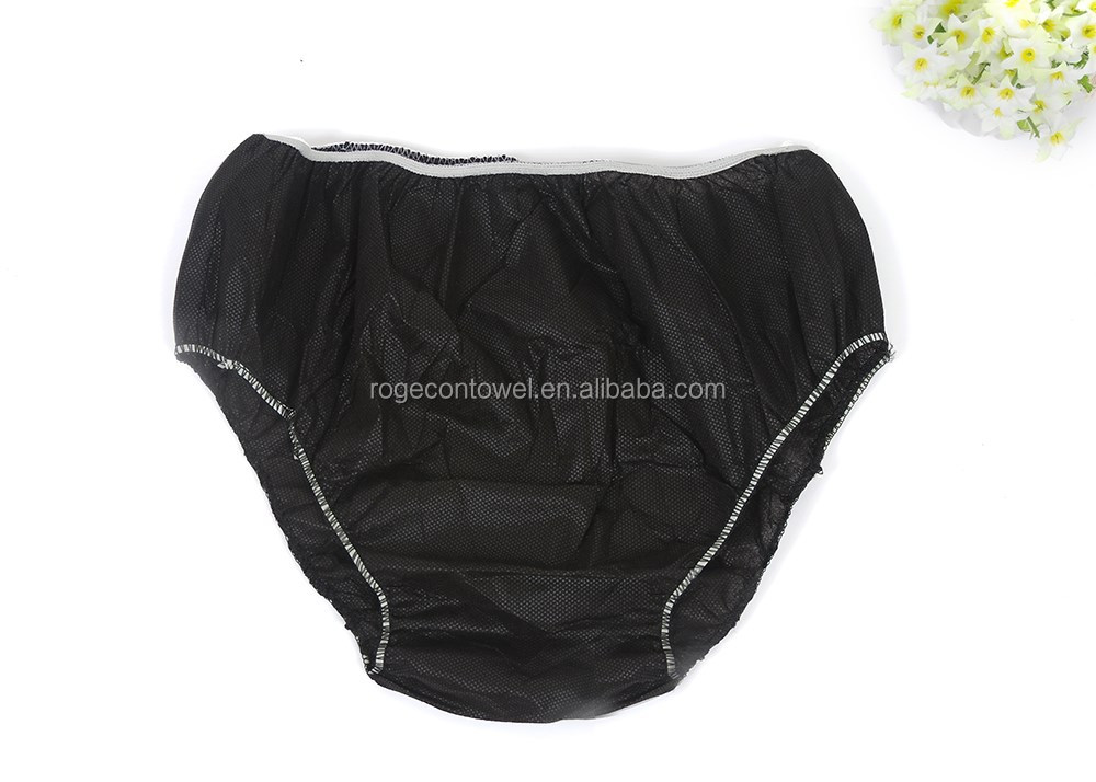 100% cotton Disposable mesh panties free samples Disposable daily use underwear one time use Disposable panties from factory