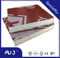 second grade plywood,figured macore decorative plywood,modelling board