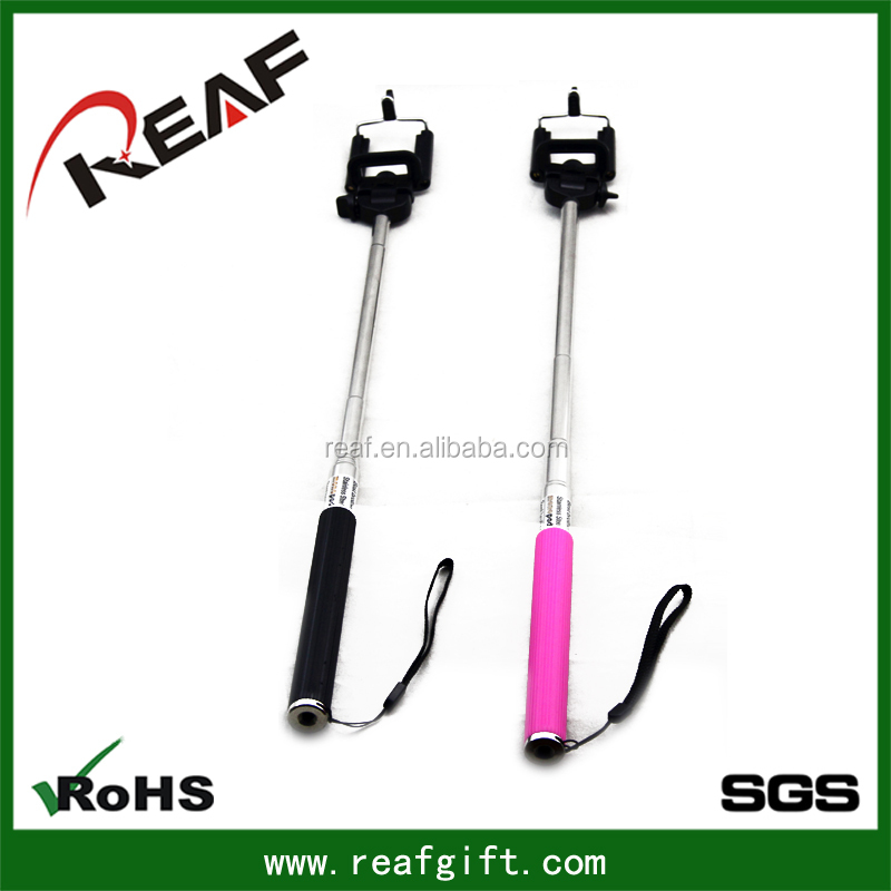 wired cable take selfie monopod extendable selfie stick fashion cartoon selfie stick view. Black Bedroom Furniture Sets. Home Design Ideas