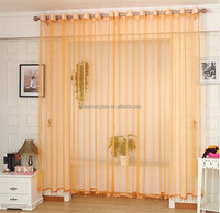 Best selling transparent house curtain modern lace curtains