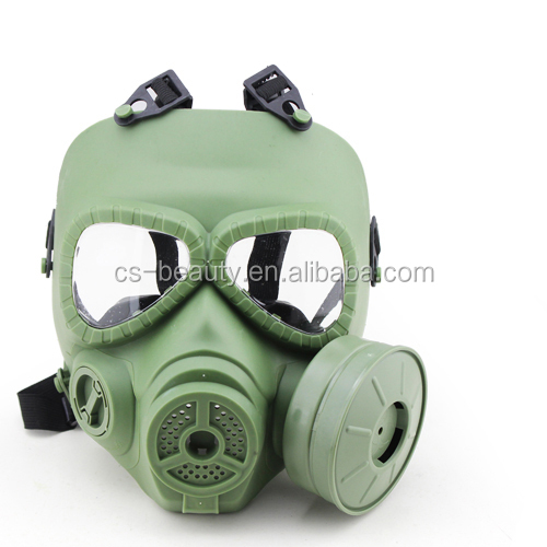 Fashion Green Anti-poisoned Military Army Combat Equipment Paintball Airsoft Full Face Gas Mask