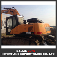 SY205 cheap used long arm excavator/tractor excavator for sale/excavator price
