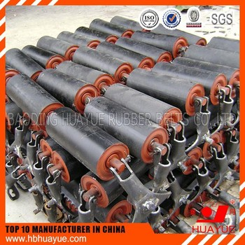 belt conveyor roller idlers