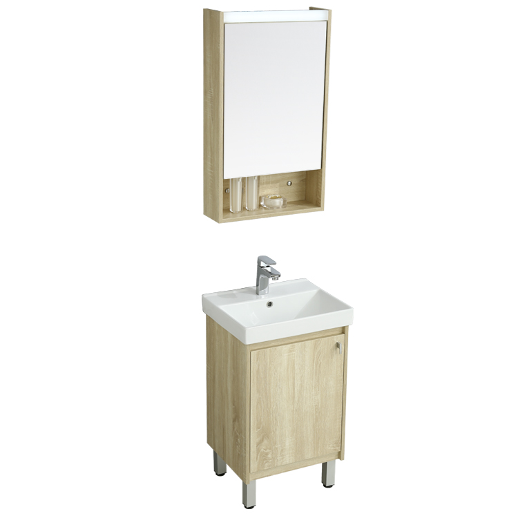Low MOQ wall hung vanity mounted stainless steel bathroom cabinet cabinets