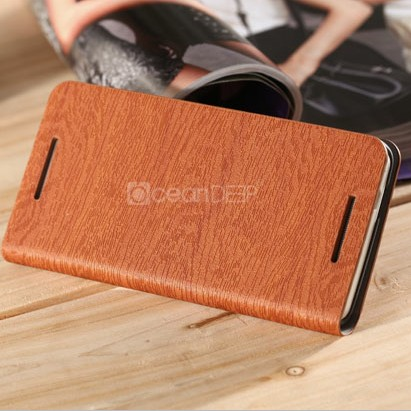 Hot selling wallet case for htc one x excellent wood case for htc one