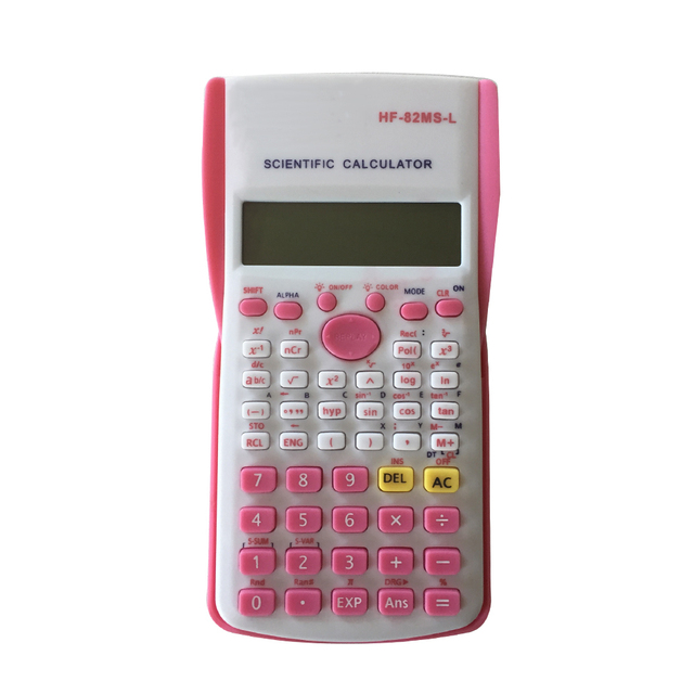 240 Function 10 Digits All Purpose Scientific Calculator,2 line with Light