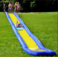 New Design long Inflatable Sport Game Fun Game for Sale/ inflatable slide fast speed