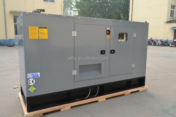 50KW electric generator Set With Soundproof canopy
