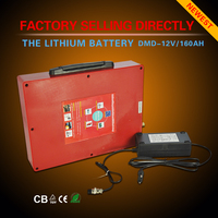 Ultra light portable 12v Nominal Voltage and li ion battery pack