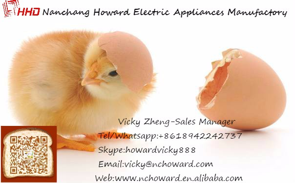 HHD Automatic egg-turning poultry automatic egg incubator mini 48 with CE approved YZ8-48