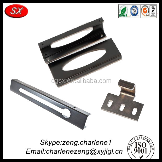 Direct factory wholesale wrought iron shelf brackets , metal cabinet shelf brackets Passed ISO 9001