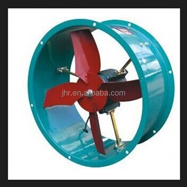 Summary of explosion-proof axial flow fan products outdoor exhaust fan the structure is more reasonable