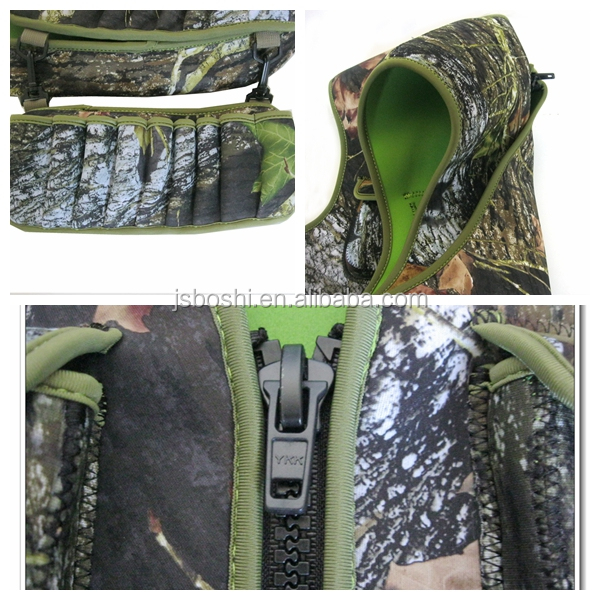 New style 3.0mm neoprene camo jacket hunting equipment cloth