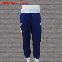 Blue plus size softball uniform custom wholesale baseball pants