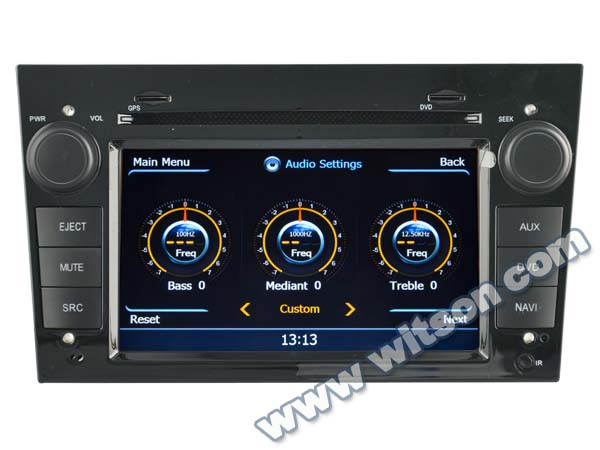 WITSON A8 Chipset radio car OPEL CORSA HD 1080P 1G CPU 512M RAM 3G/ wifi/DVR (Option)