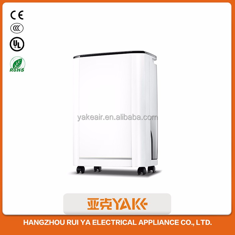 Dehumidifier for display cabinet with LED Display