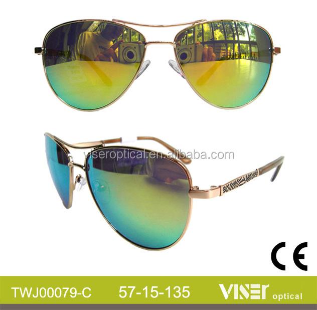 China Wholesale Fashion design metal Sunglasses (79-C)
