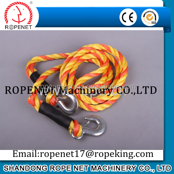 4 ply rope / pp fishing leaded rope / polypropylene rope